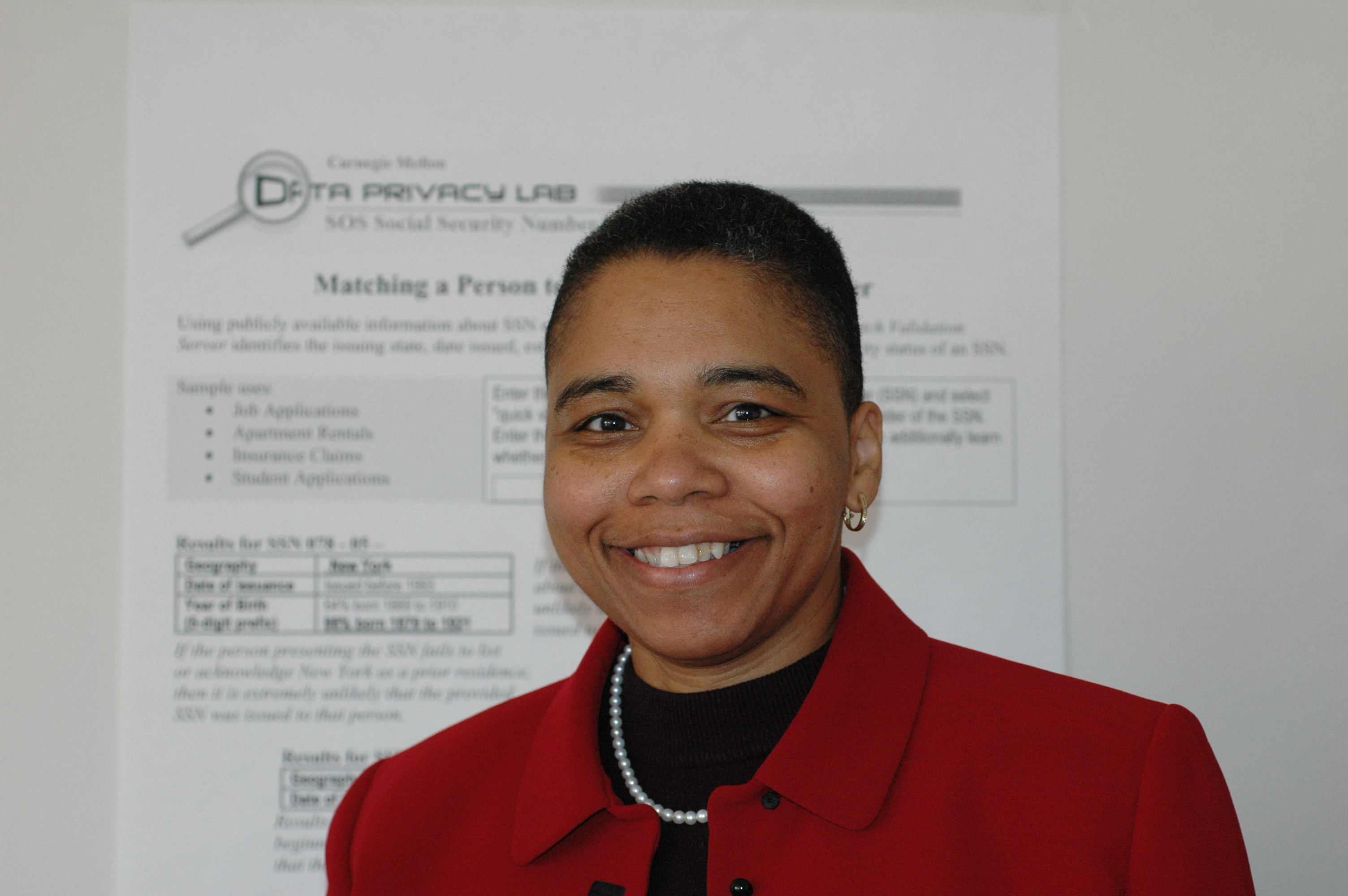 Photo of Latanya Sweeney